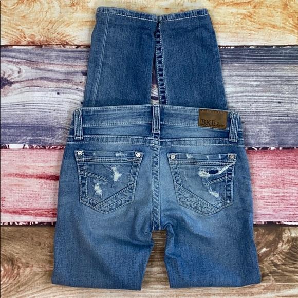 BKE Denim - BKE Stella Skinny Stretch Distressed Jeans